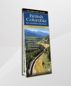 British Columbia and Canadian Rockies Railway Map Guide